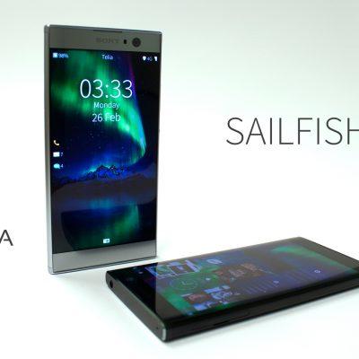 Sailfish3 on Xperia XA2