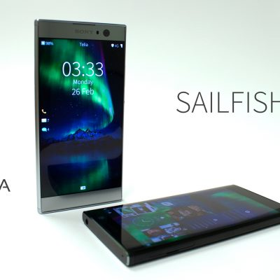 Sailfish3 on Xperia XA2